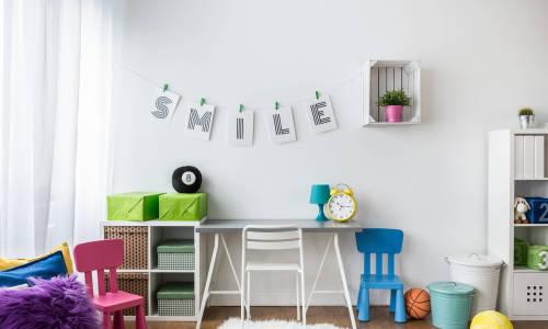 Dekoracja biurka dla dzieci - zrób to sam!